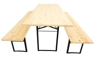 Brewery-set table frame standard