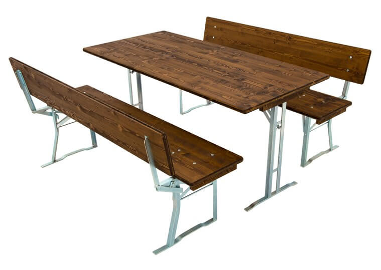 Pub set with 40 cm benches