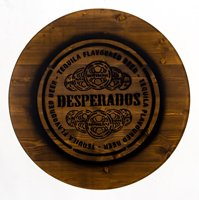 Tabletops for Desperados standing tables
