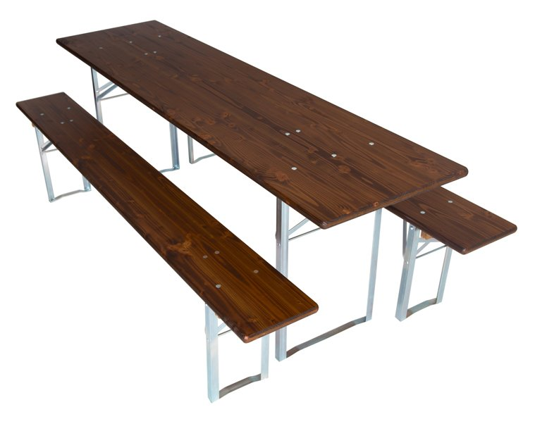 Tables & benches wood colour walnut model 190